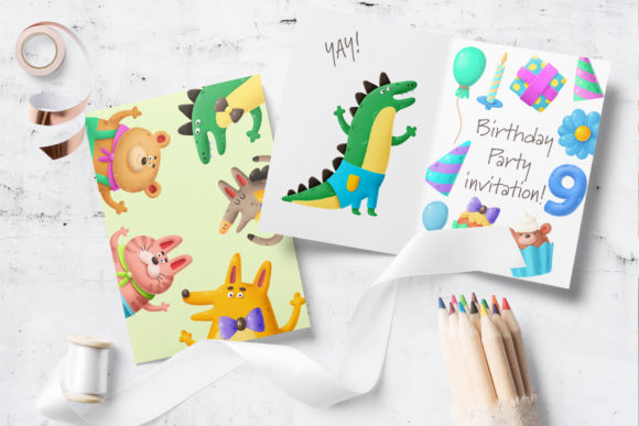 Print on Demand: Birthday Clipart Bundle Graphic Illustrations By Architekt_AT - Image 5
