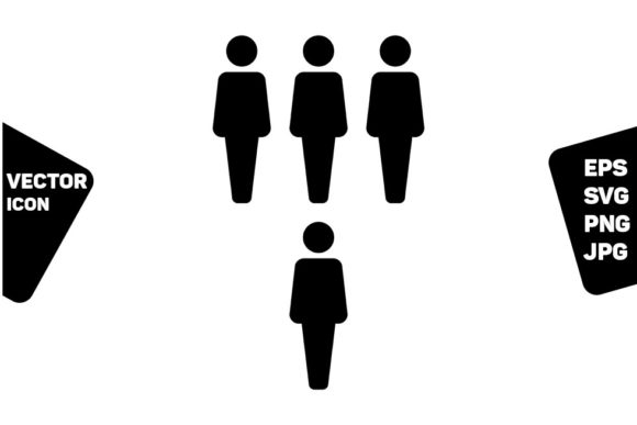 Download Free Business Person Icon Vector Male Group Graphic By Tuktuk Design for Cricut Explore, Silhouette and other cutting machines.
