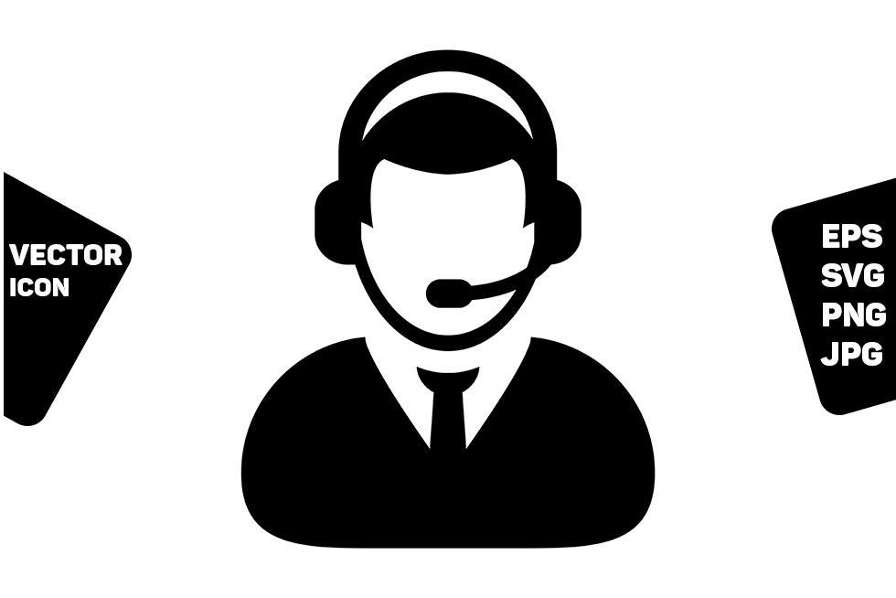 Download Free Business Service Icon Vector Male Online Graphic By Tuktuk for Cricut Explore, Silhouette and other cutting machines.