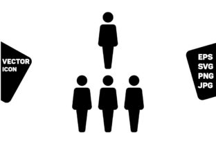 Print on Demand: Businessman Icon Vector Male People Sign Graphic Icons By TukTuk Design