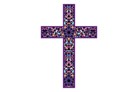 Download Free Cross Christian Easter Christmas Graphic By Graphicsfarm for Cricut Explore, Silhouette and other cutting machines.