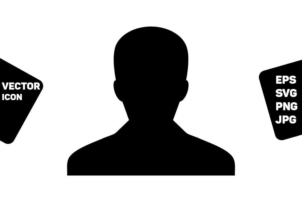 Download Free Employee Icon Vector Male User Person Graphic By Tuktuk Design for Cricut Explore, Silhouette and other cutting machines.