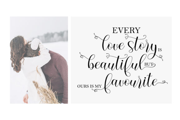 Print on Demand: Everytime Script & Handwritten Font By softcreative50 - Image 4