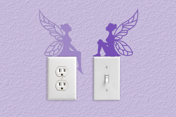 Fairy Light Switch Graphic Crafts By RisaRocksIt