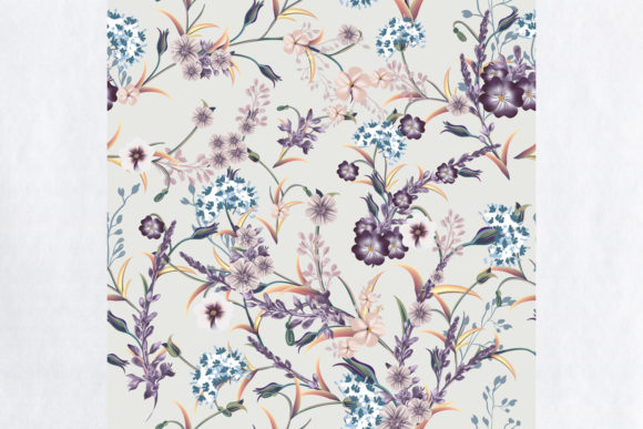 Floral Vintage Seamless Pattern Graphic Patterns By fleurartmariia - Image 2