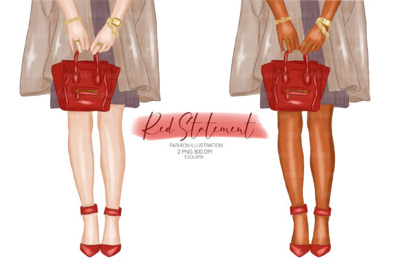Heels Clipart Red Fashion Illustrations Graphic Illustrations By evolara