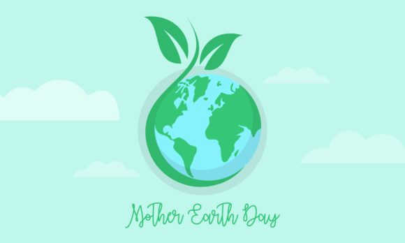 International Mother Earth Day April 22 Graphic Logos By DEEMKA STUDIO