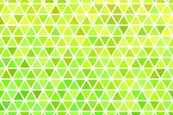 Lime Green Triangle Polygon Background Graphic Backgrounds By davidzydd