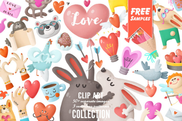Print on Demand: Love Bundle Graphic Illustrations By Architekt_AT