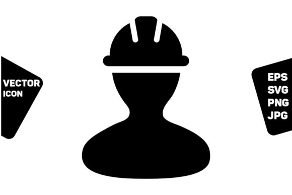 Download Free Manual Worker Icon Vector Operator Graphic By Tuktuk Design for Cricut Explore, Silhouette and other cutting machines.