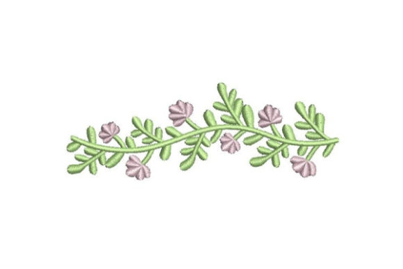 Pink Flower Wreath Floral Wreaths Embroidery Design By Embroidery Designs - Image 1
