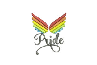 Pride Awareness Embroidery Design By Embroidery Designs