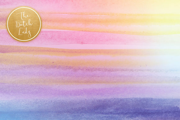 Print on Demand: Rainbow Fantasy Graphic Backgrounds By daphnepopuliers - Image 4