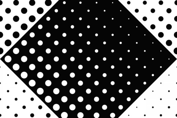 Download Free Seamless Monochrome Star Pattern Graphic By Davidzydd Creative for Cricut Explore, Silhouette and other cutting machines.