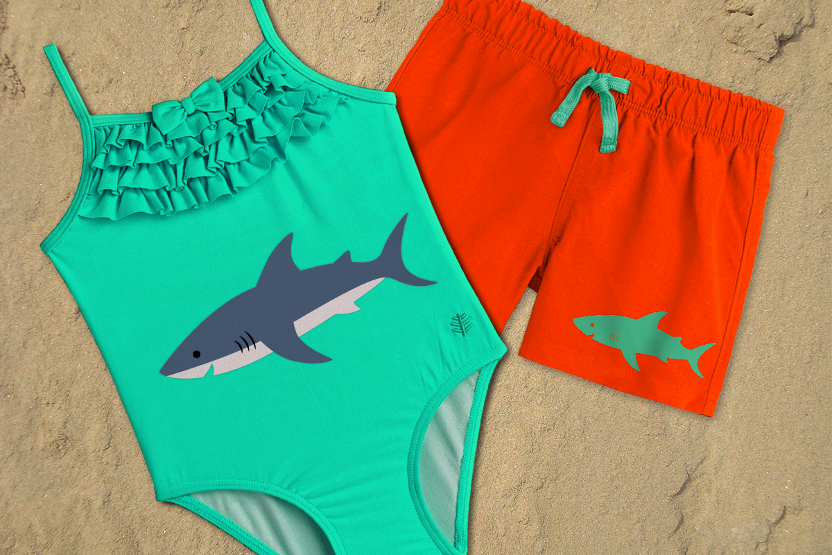 Download Free Shark Graphic By Risarocksit Creative Fabrica for Cricut Explore, Silhouette and other cutting machines.