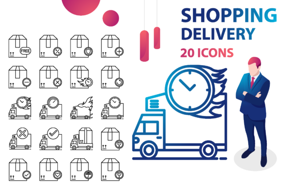 Download Free Shopping Delivery Buy Business Shop Graphic By for Cricut Explore, Silhouette and other cutting machines.