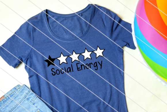 Print on Demand: Social Energy Level - Introvert Graphic Crafts By Amy Anderson Designs