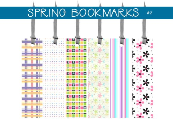 Print on Demand: Spring Bookmarks       #2 Graphic Illustrations By capeairforce