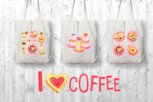 Print on Demand: Sweet Cookies Graphic Illustrations By evgenia_art_art - Image 5