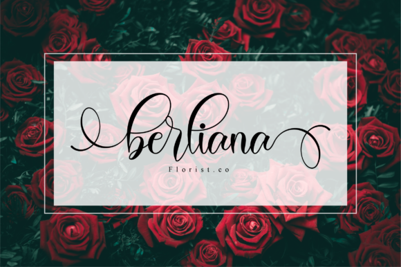 Print on Demand: Valeyola Script Script & Handwritten Font By NissaStudio - Image 3