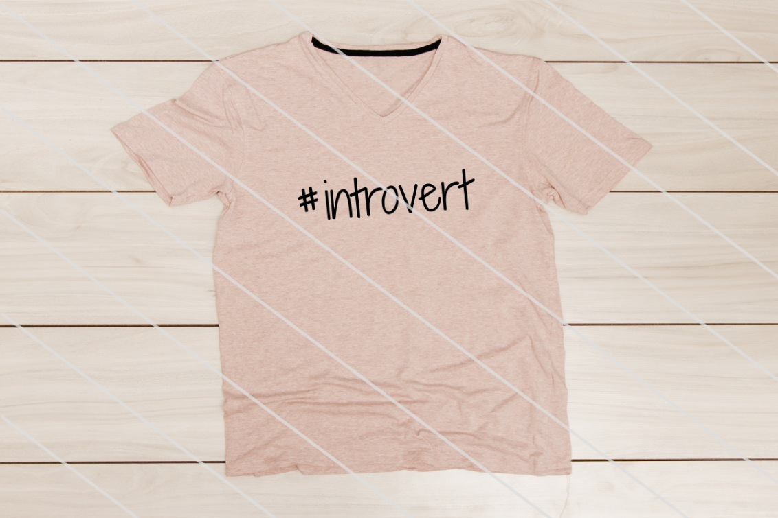 Download Free Introvert Graphic By Amy Anderson Designs Creative Fabrica for Cricut Explore, Silhouette and other cutting machines.