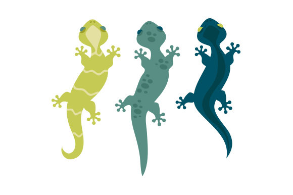 Gecko Animales Archivo de Corte Craft Por Creative Fabrica Crafts