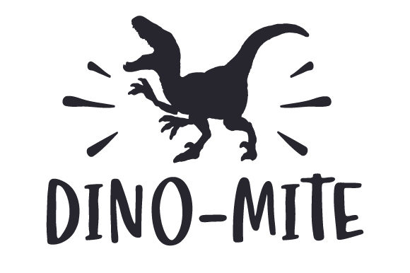 Download Free Dino Mite Svg Cut File By Creative Fabrica Crafts Creative Fabrica for Cricut Explore, Silhouette and other cutting machines.