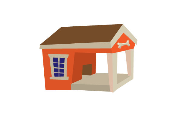 Dog House Dogs Craft Cut File By Creative Fabrica Crafts