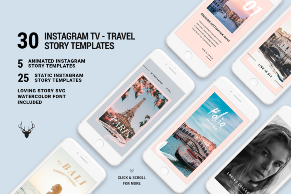 Print on Demand: Animated Instagram Stories Graphic Websites By SilverStag
