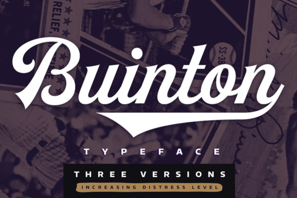 Print on Demand: Buinton Script & Handwritten Font By melvasmika