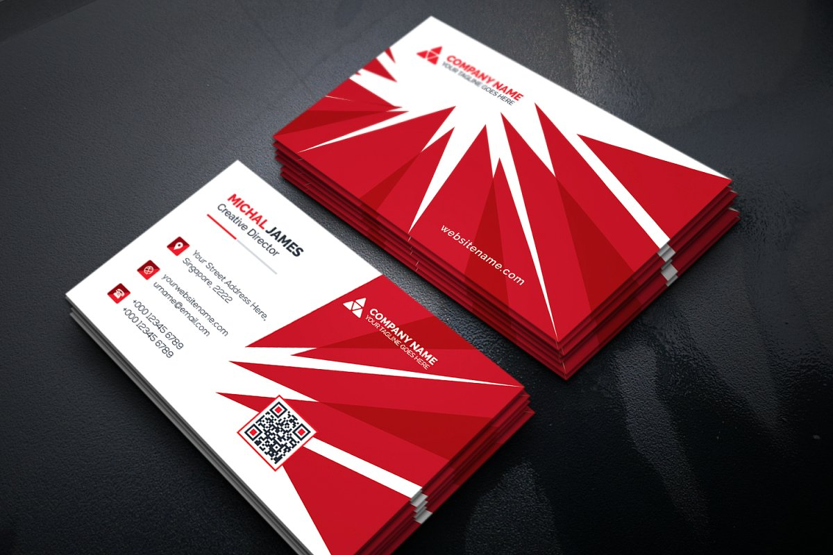 Download Free Business Card Graphic By Curvedesign Creative Fabrica SVG Cut Files