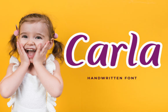 Print on Demand: Carla Sans Serif Font By formatikastd