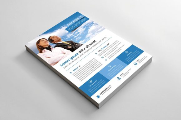 Download Free Corporate Flyer Graphic By Curvedesign Creative Fabrica for Cricut Explore, Silhouette and other cutting machines.