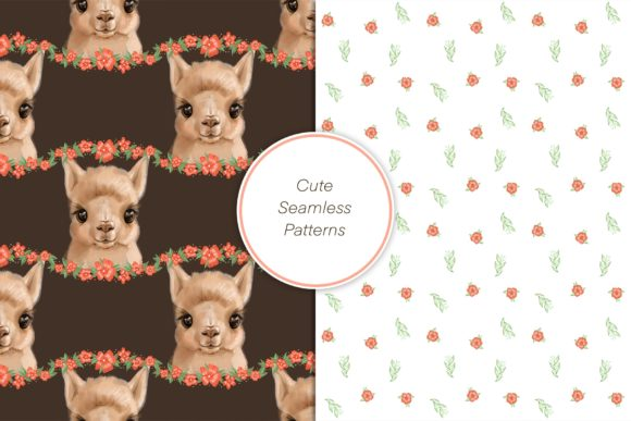 Cute Alpaca Clipart Graphic Illustrations By NataliMyaStore - Image 4