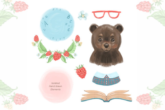 Cute Bear Cliparts Graphic Illustrations By NataliMyaStore - Image 2