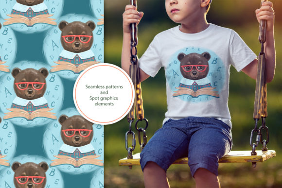 Cute Bear Cliparts Graphic Illustrations By NataliMyaStore - Image 4