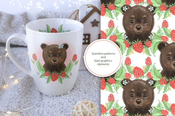 Cute Bear Cliparts Graphic Illustrations By NataliMyaStore - Image 6