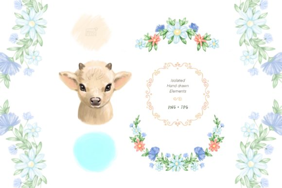 Cute Cow Graphic Illustrations By NataliMyaStore - Image 2