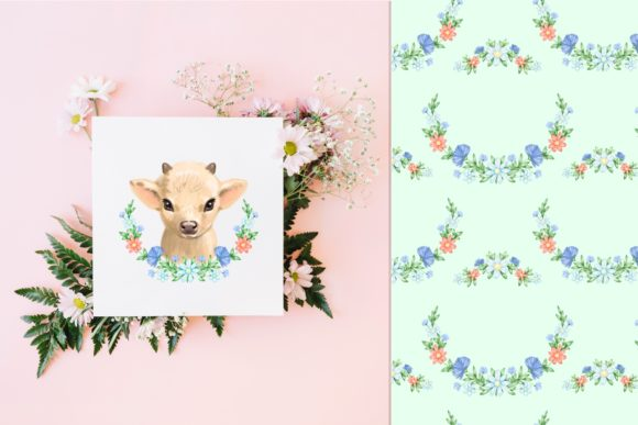 Cute Cow Graphic Illustrations By NataliMyaStore - Image 4