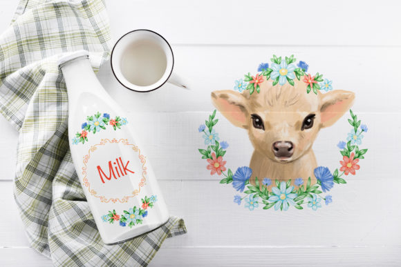 Cute Cow Graphic Illustrations By NataliMyaStore - Image 5