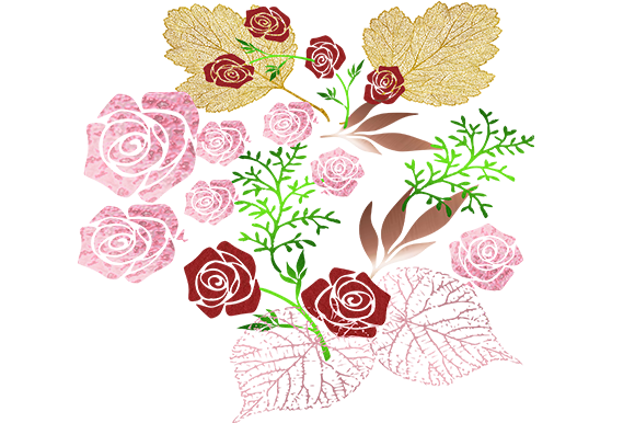 Print on Demand: Floral Design Graphic Illustrations By arts4busykids
