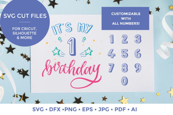 Download Free It S My Birthday Graphic By Scilla Corbelli Creative Fabrica for Cricut Explore, Silhouette and other cutting machines.