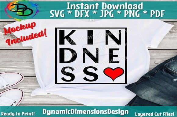 Kindness Graphic Crafts By dynamicdimensions