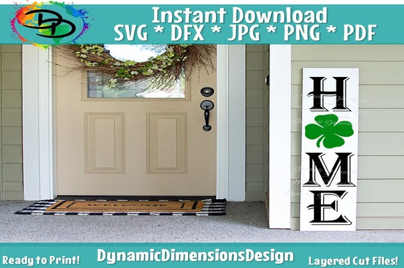 Download Free Porch Sign Graphic By Dynamicdimensions Creative Fabrica for Cricut Explore, Silhouette and other cutting machines.