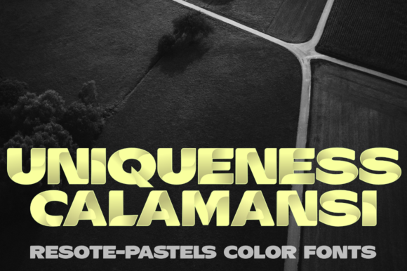Print on Demand: ResotE Pastels Family Color Fonts Font By glukfonts - Image 4