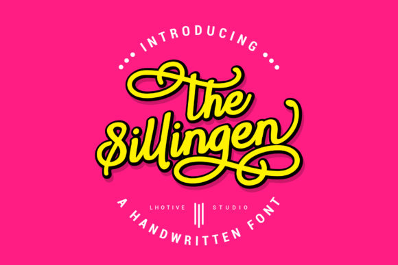 Print on Demand: Sillingen Script & Handwritten Font By lhotive