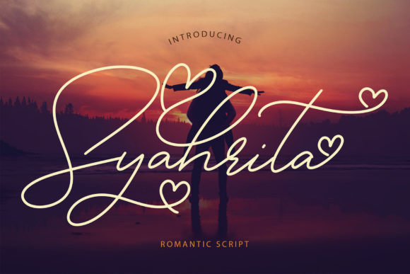 Print on Demand: Syahrita Script & Handwritten Font By formatikastd