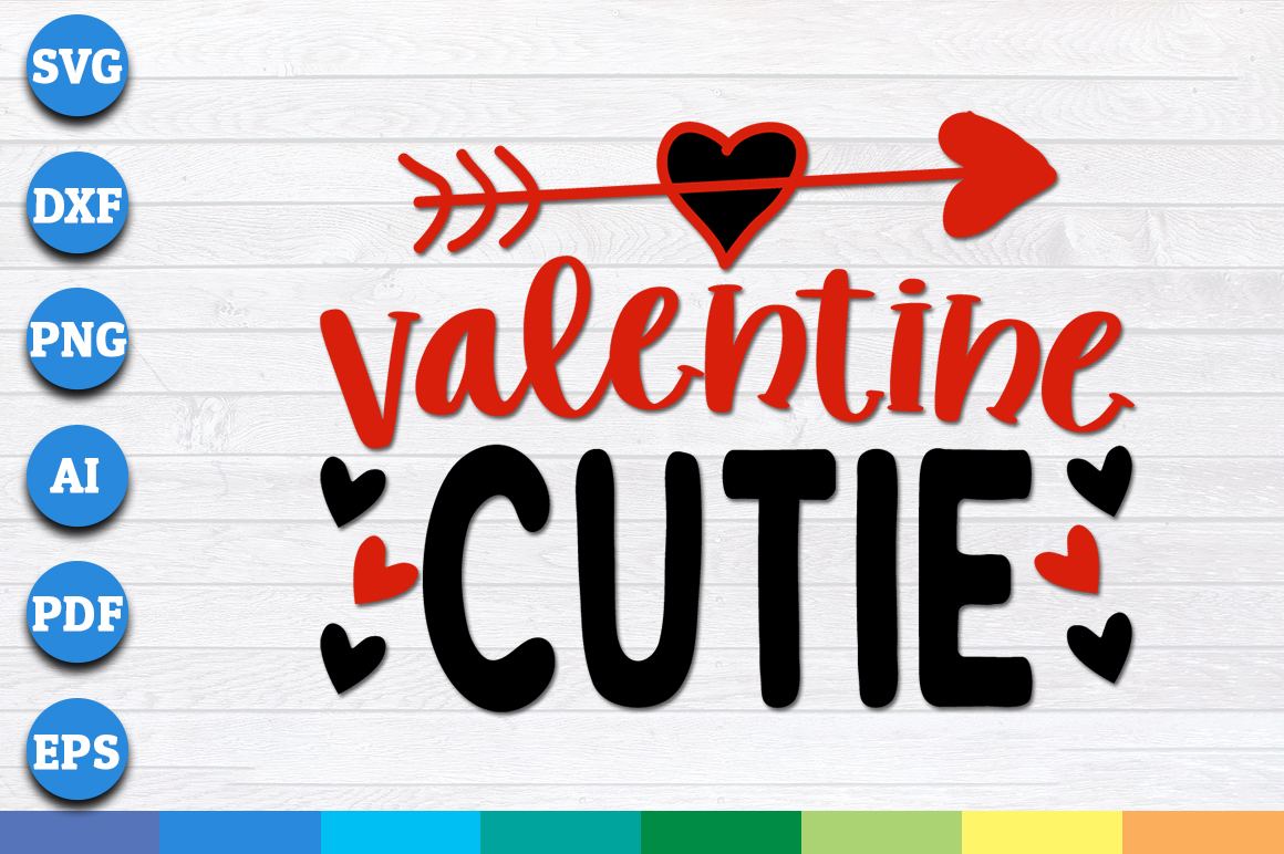 Download Free Valentine Cutie Graphic By Aartstudioexpo Creative Fabrica for Cricut Explore, Silhouette and other cutting machines.