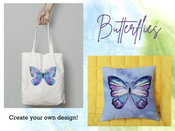 Watercolor Butterfly Graphic Illustrations By lena-dorosh - Image 2