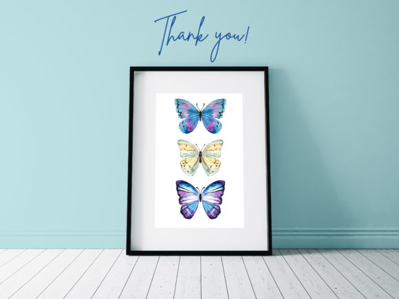 Watercolor Butterfly Graphic Illustrations By lena-dorosh - Image 3